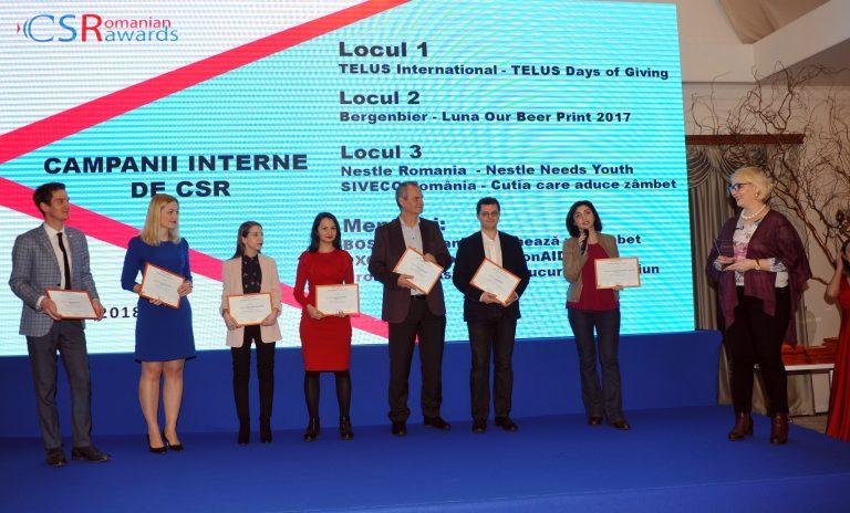 Numar record de proiecte inscrise in competitia Romanian CSR Awards 2019