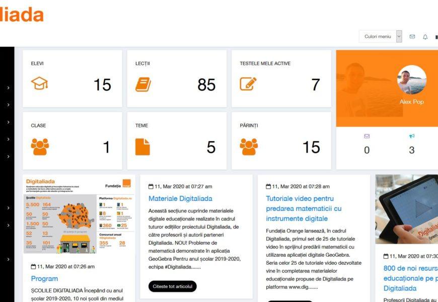 Digitaliada: Resurse gratuite pentru elevi si profesori