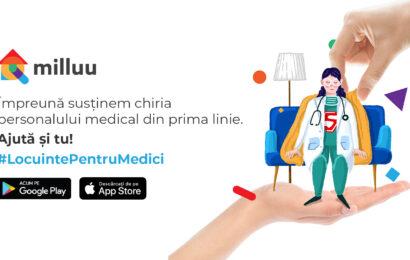 Milluu lanseaza initiativa #LocuintePentruMedici