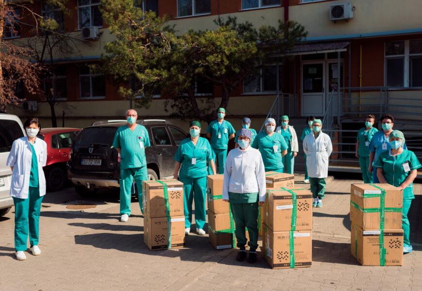 TenarisSilcotub a donat 10.000 de masti de protectie medicilor din Zalau