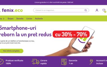 Fenix.eco: Magazin online dedicat vânzării de smartphone-uri recondiționate