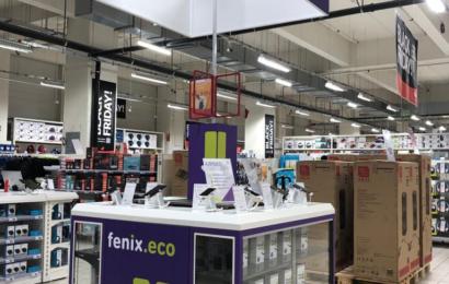 Fenix.eco a incheiat un parteneriat cu Auchan pentru distribuția de smartphone-uri recondiționate